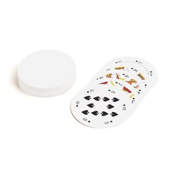 Playing Cards Single Design (Round)