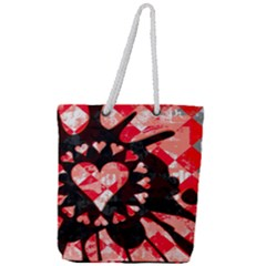 Full Print Rope Handle Tote (Large)