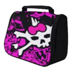 Punk Skull Princess Full Print Travel Pouch (Small)