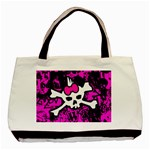 Punk Skull Princess Classic Tote Bag (Two Sides)