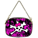 Punk Skull Princess Chain Purse (One Side)