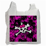 Punk Skull Princess Recycle Bag (One Side)