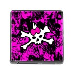 Punk Skull Princess Memory Card Reader with Storage (Square)