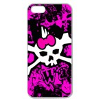 Punk Skull Princess Apple Seamless iPhone 5 Case (Clear)