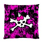 Punk Skull Princess Standard Cushion Case (Two Sides)
