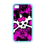 Punk Skull Princess iPhone 4 Case (Color)