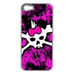 Punk Skull Princess iPhone 5 Case (Silver)