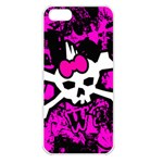 Punk Skull Princess iPhone 5 Seamless Case (White)