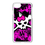 Punk Skull Princess iPhone 7 Seamless Case (White)