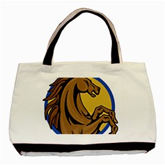 Horse circle Classic Tote Bag from UrbanLoad.com Front
