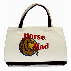 Horse mad Classic Tote Bag from UrbanLoad.com Front