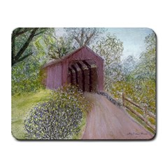 Coveredbridge300 Small Mousepad from UrbanLoad.com Front